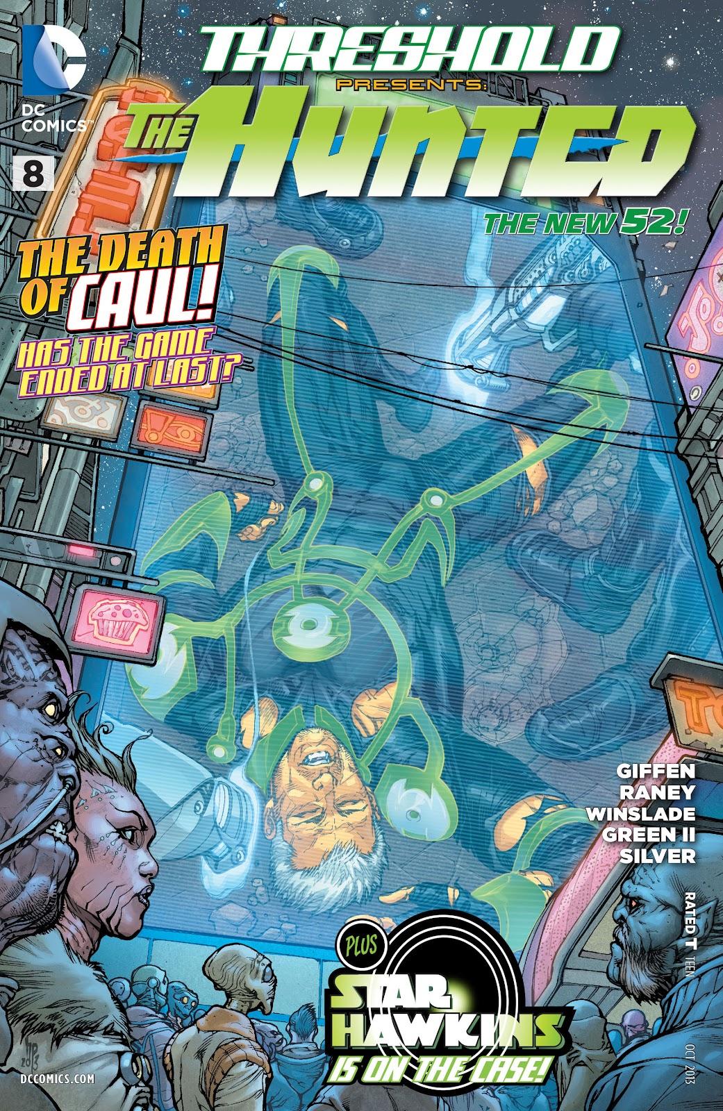 Threshold (2013) Issue #8 #8 - English 1