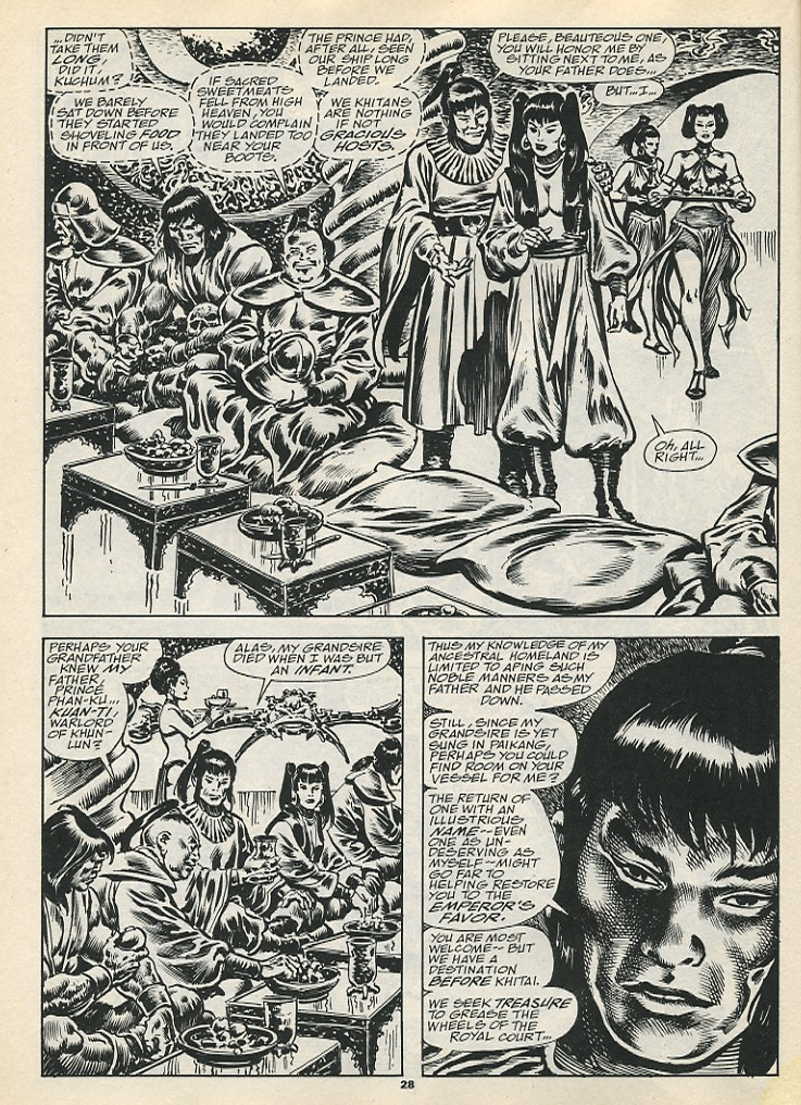 The Savage Sword Of Conan Issue #192 #193 - English 30