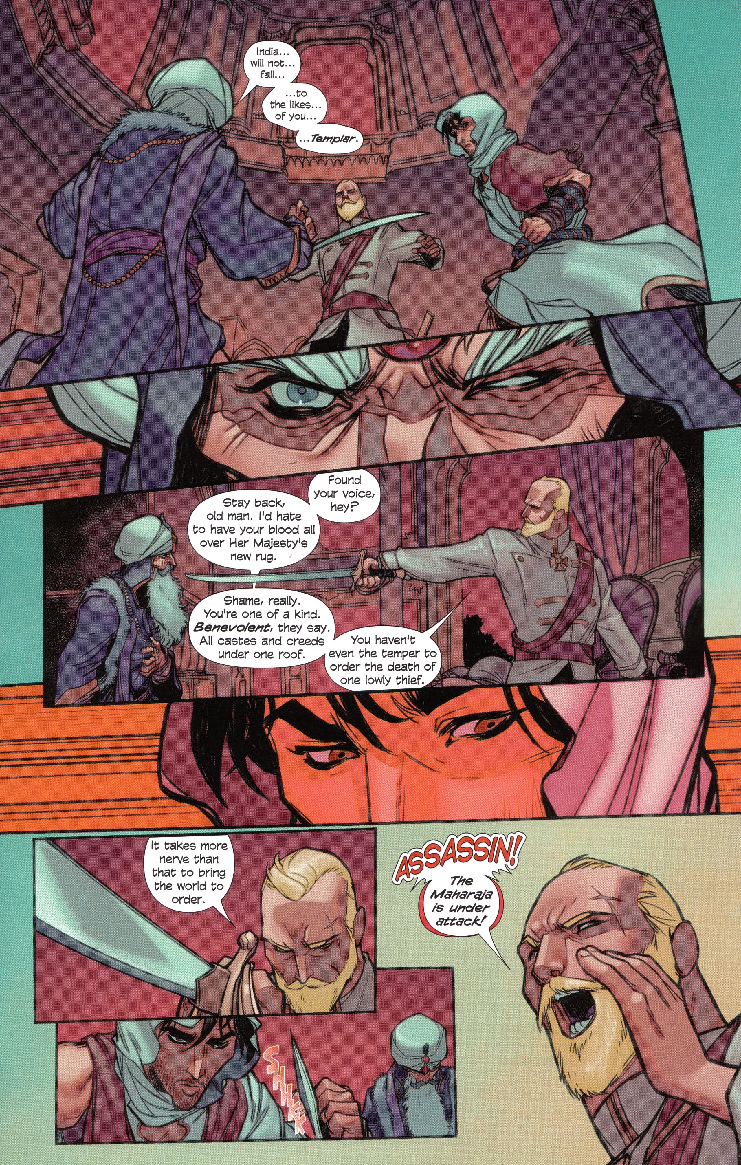 Read online Assassin's Creed Brahman comic -  Issue #Assassin's Creed Brahman Full - 74