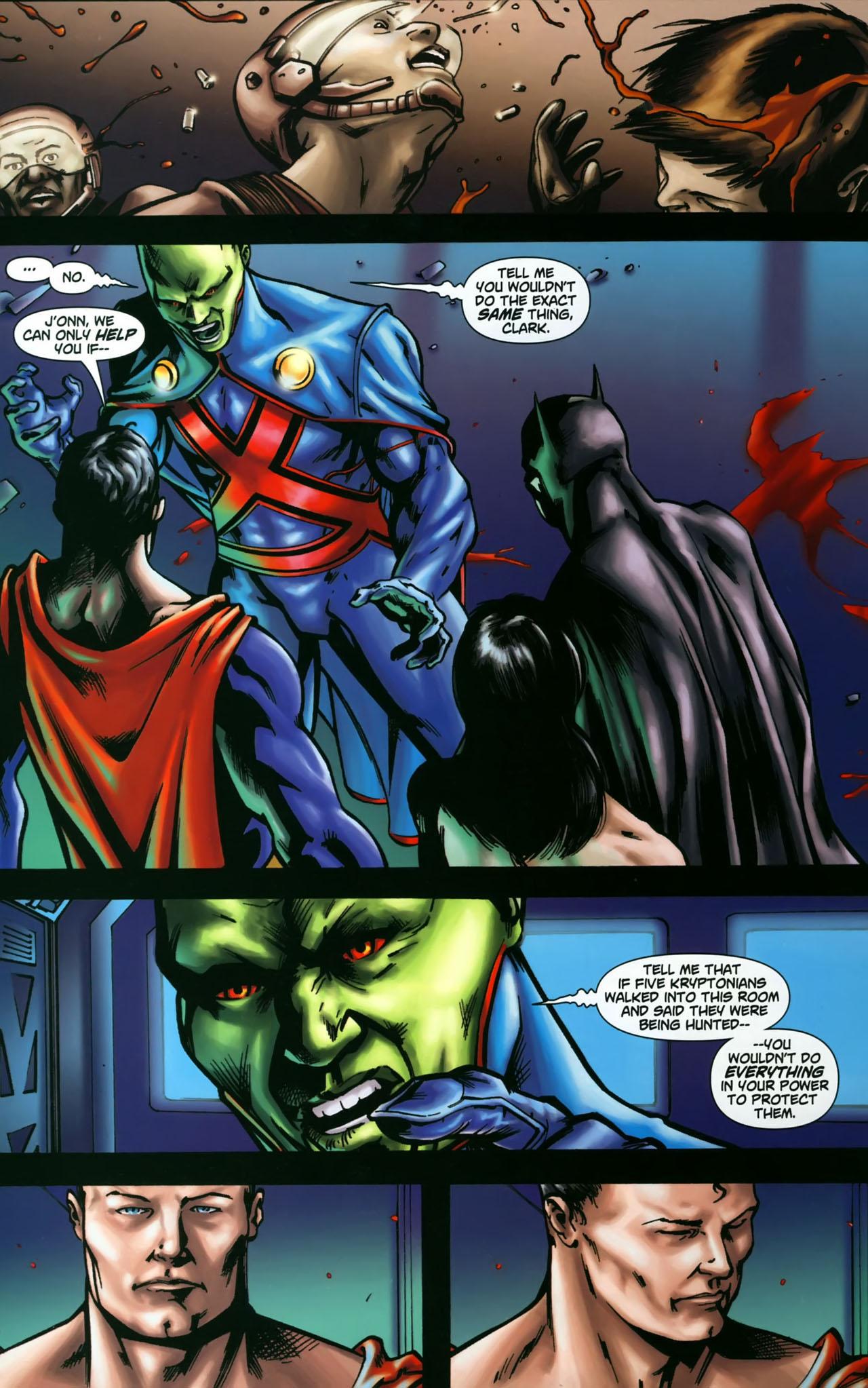 Read online Martian Manhunter (2006) comic -  Issue #3 - 21