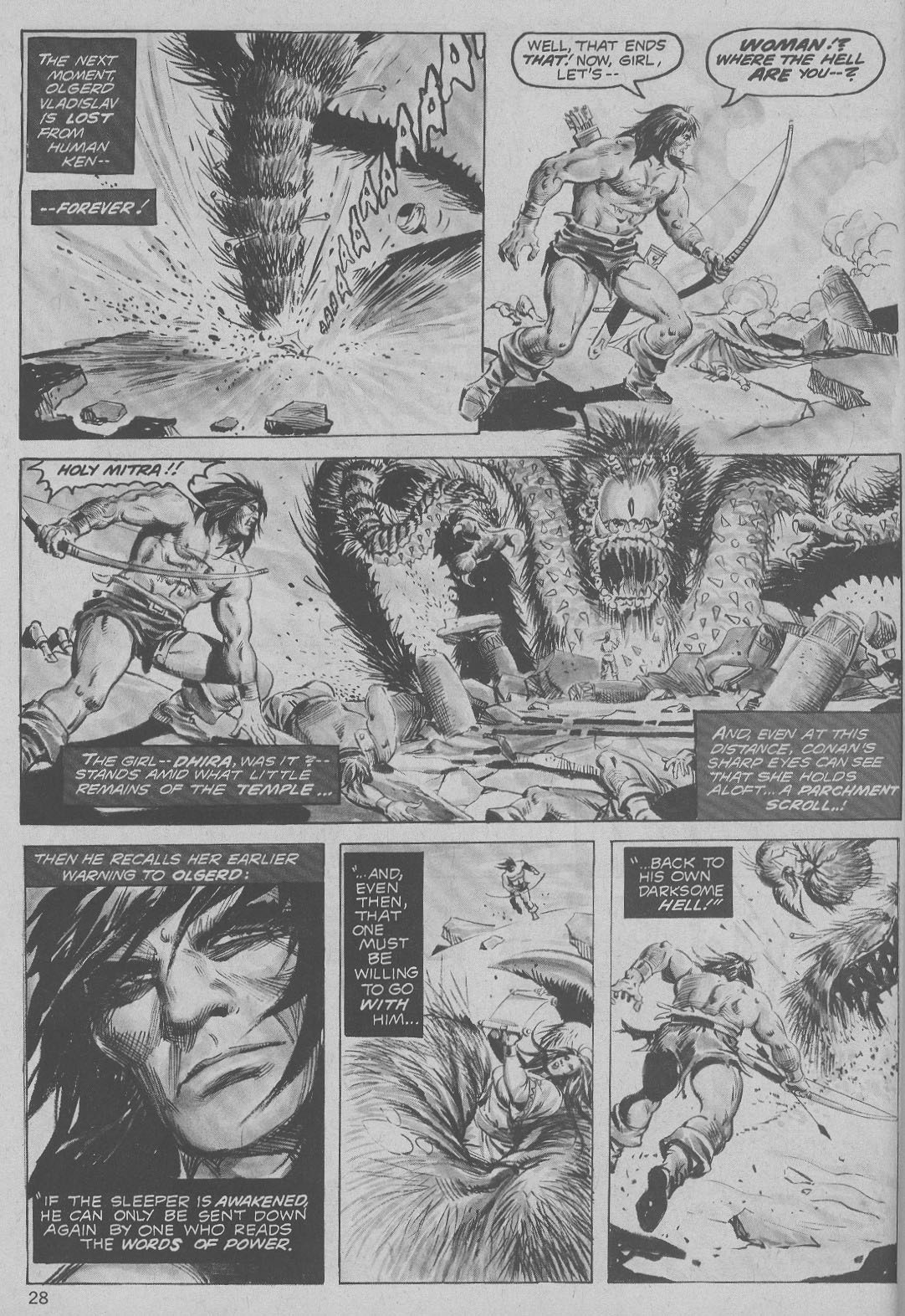 The Savage Sword Of Conan Issue #6 #7 - English 28