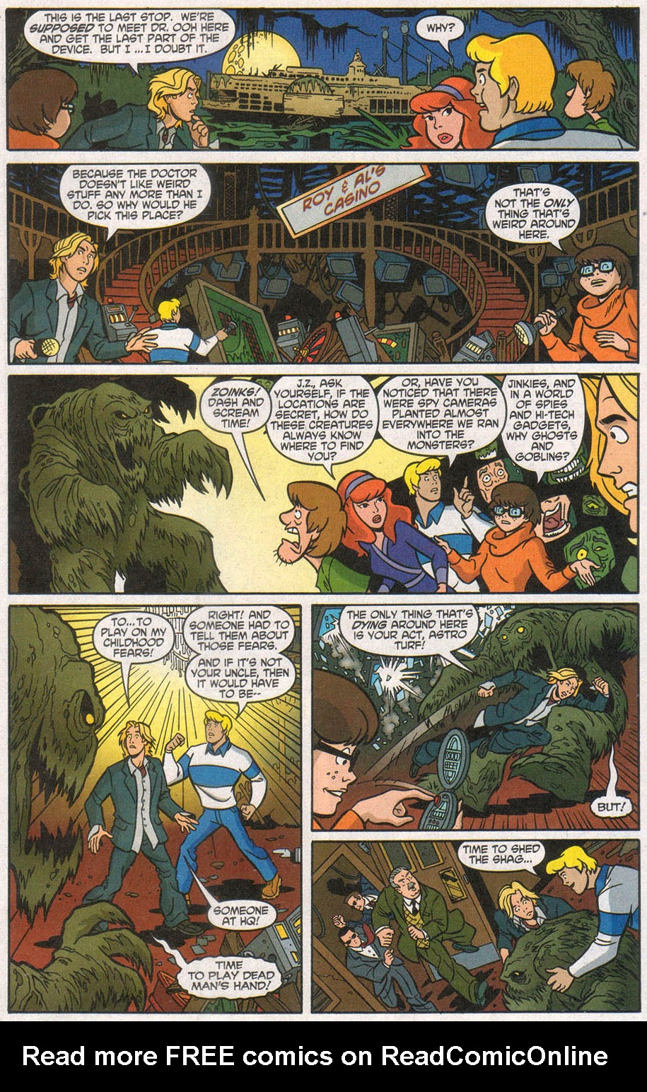 Read online Scooby-Doo (1997) comic -  Issue #106 - 14
