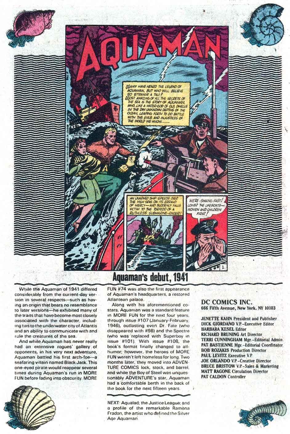 Aquaman (1989) Issue #1 #1 - English 25
