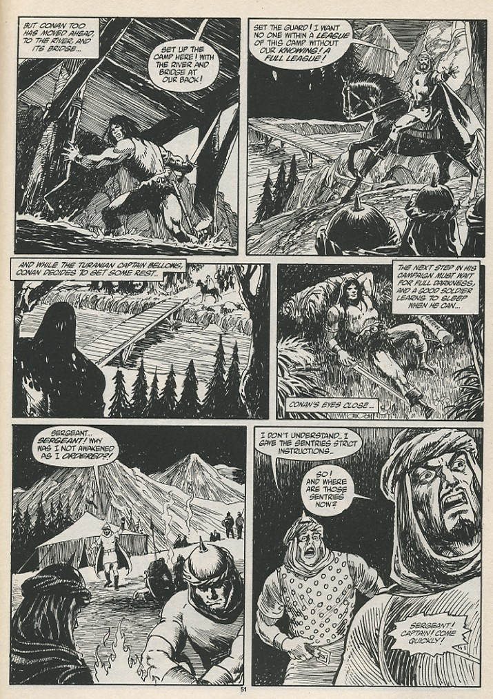 The Savage Sword Of Conan Issue #189 #190 - English 53