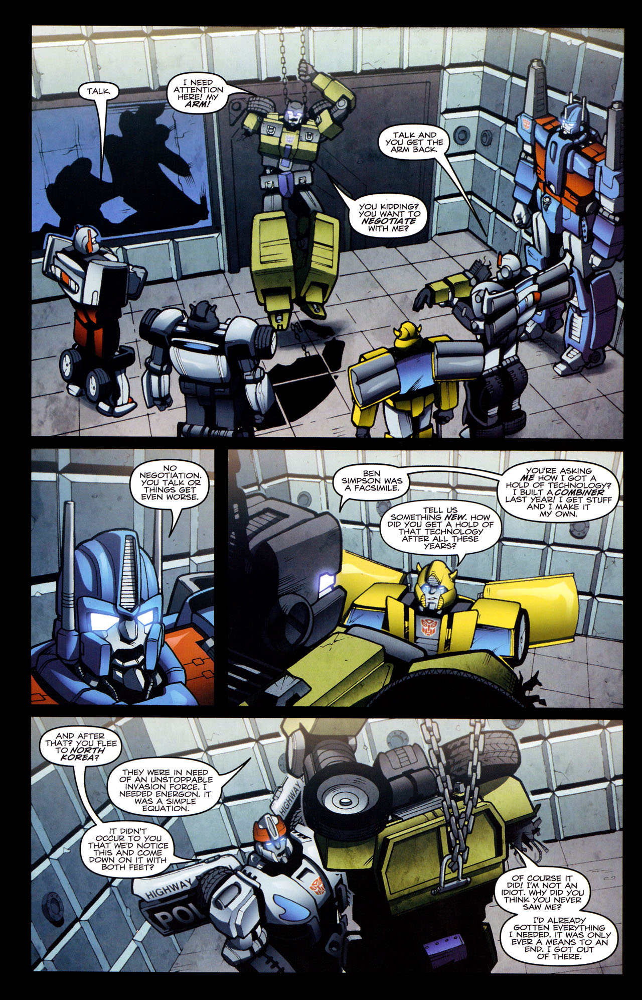 Read online The Transformers (2009) comic -  Issue #29 - 18
