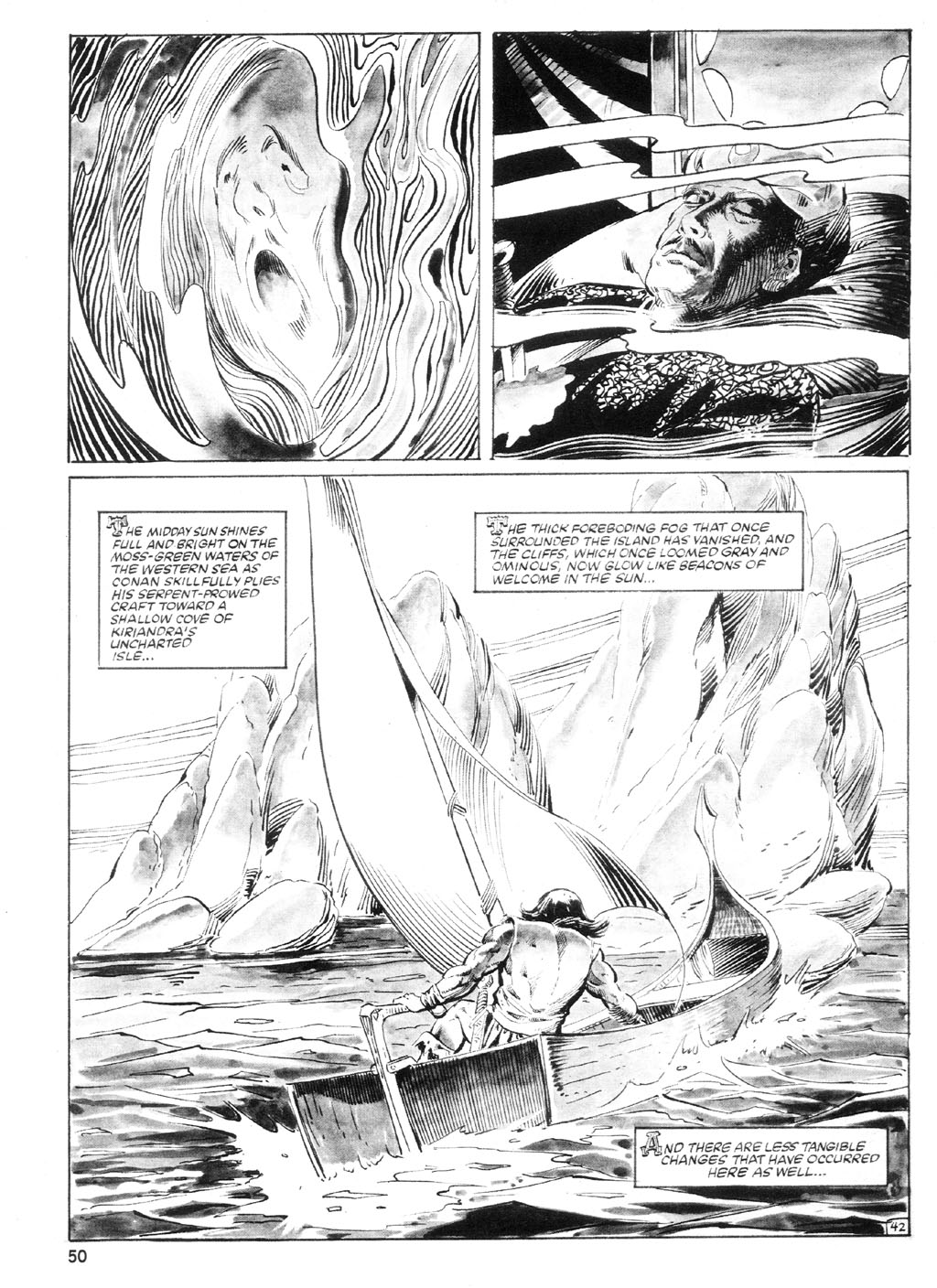 The Savage Sword Of Conan Issue #94 #95 - English 49