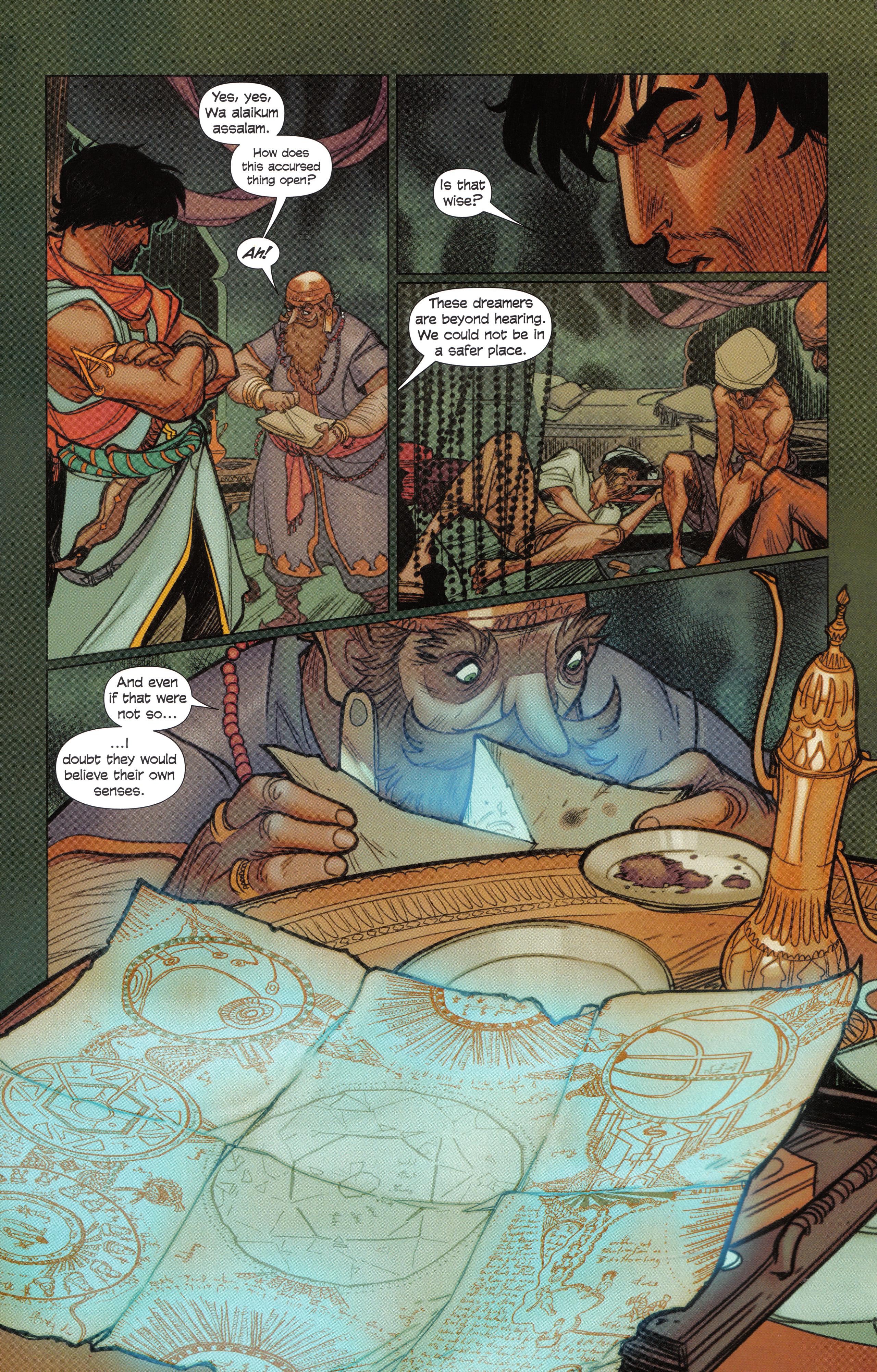 Read online Assassin's Creed Brahman comic -  Issue #Assassin's Creed Brahman Full - 30