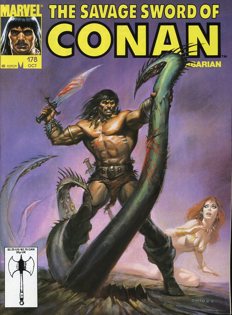 The Savage Sword Of Conan Issue #178 #179 - English 1