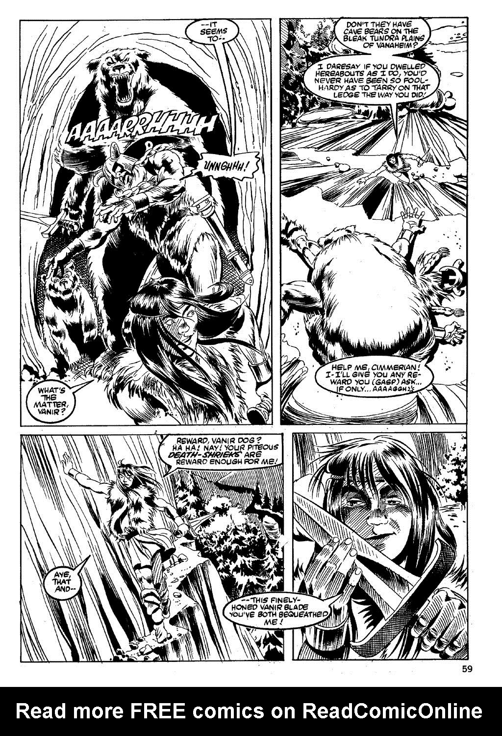 The Savage Sword Of Conan Issue #89 #90 - English 57