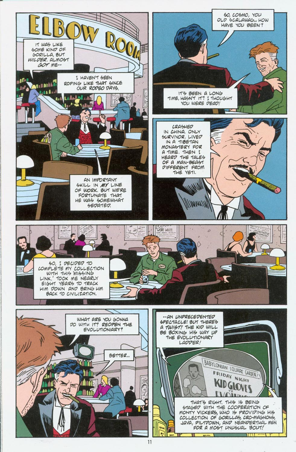 Read online Terminal City comic -  Issue #6 - 12
