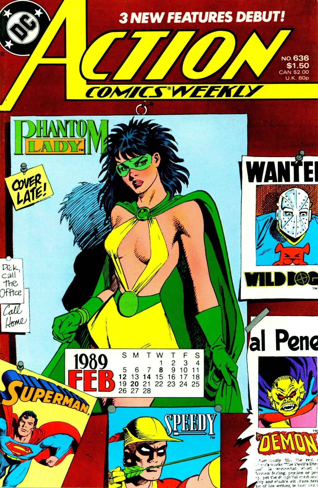 Action Comics (1938) 636 Page 1