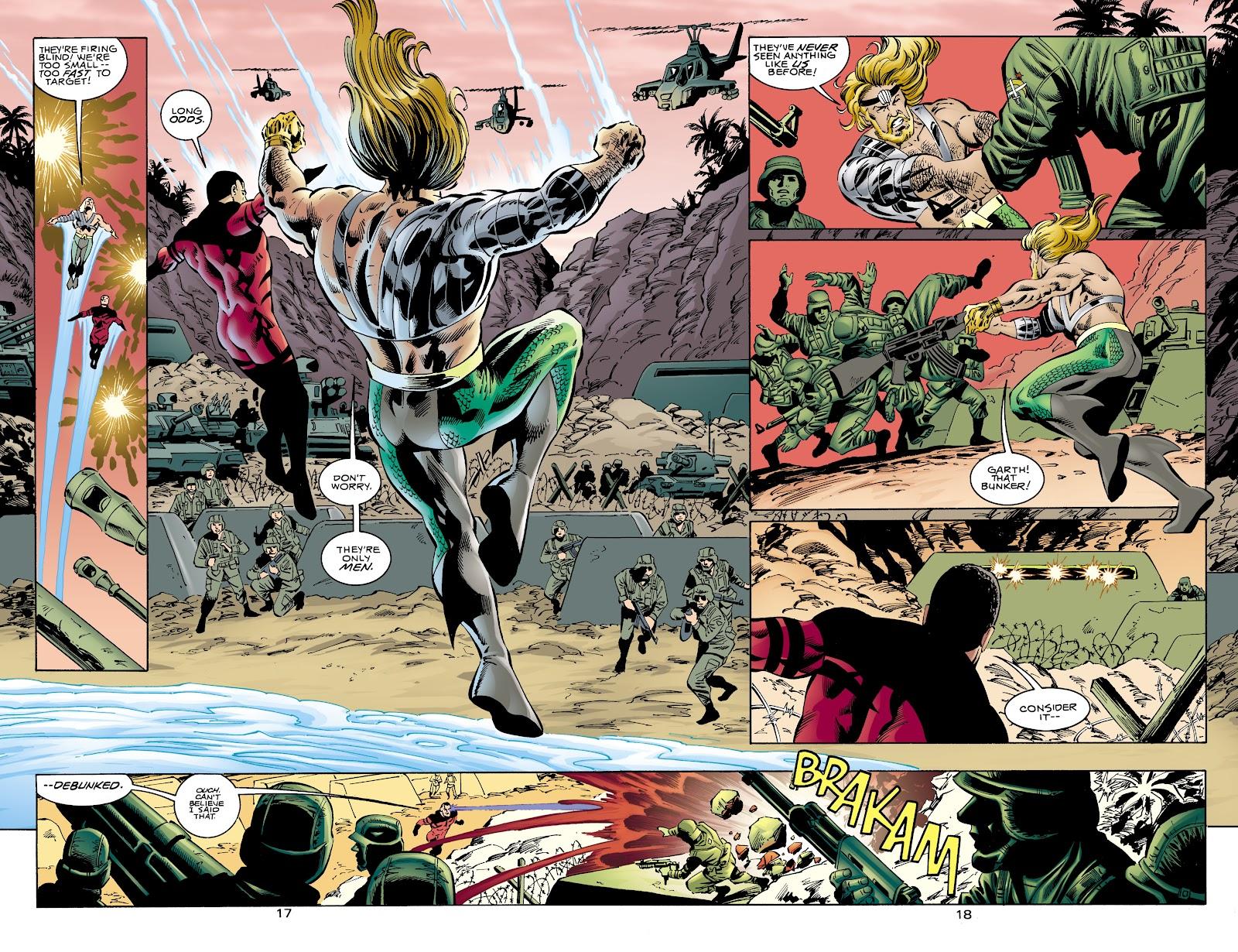 Aquaman (1994) Issue #65 #71 - English 17