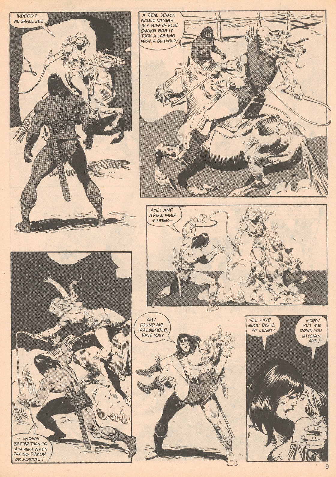 The Savage Sword Of Conan Issue #70 #71 - English 9