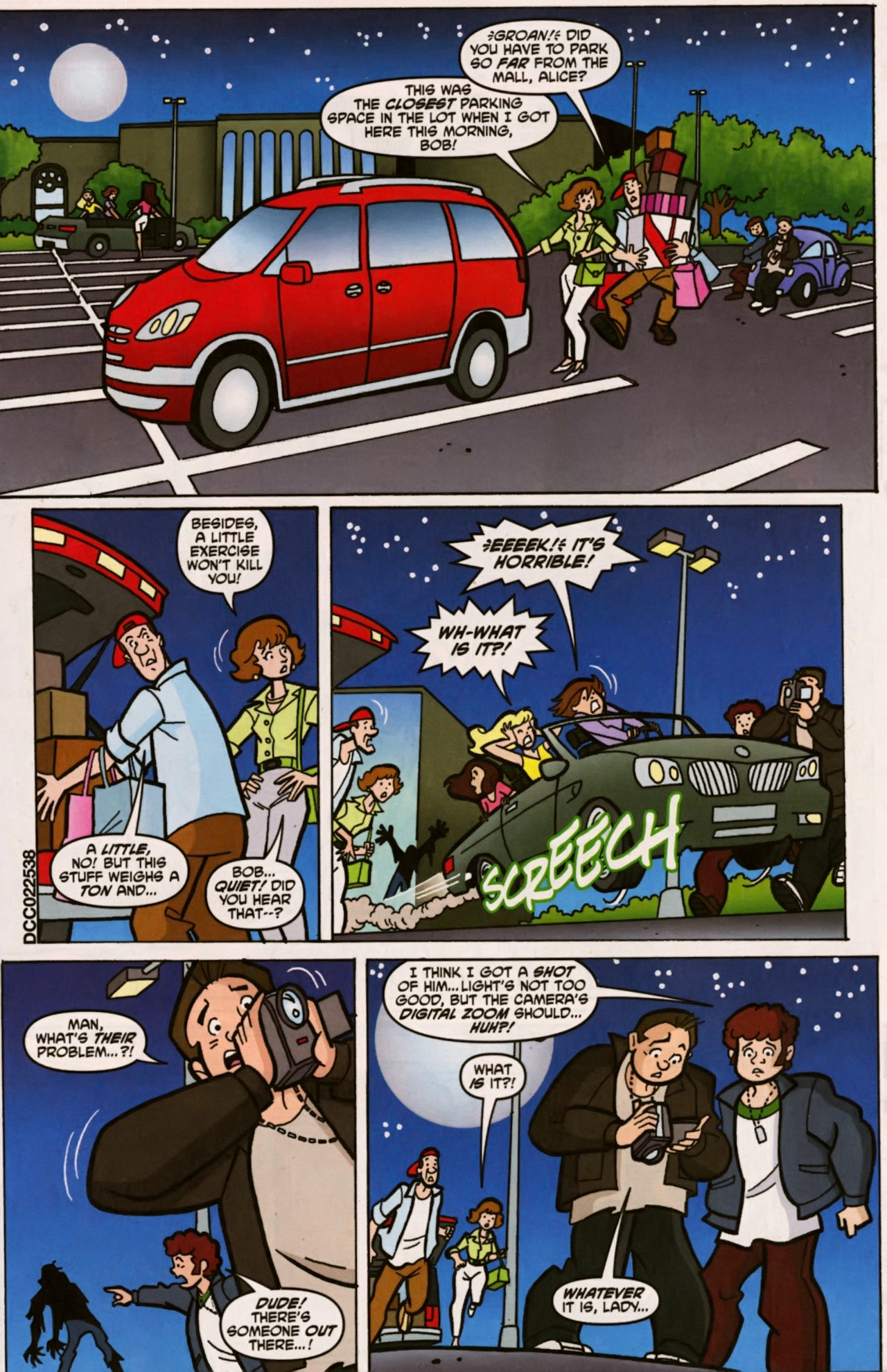 Read online Scooby-Doo (1997) comic -  Issue #157 - 2