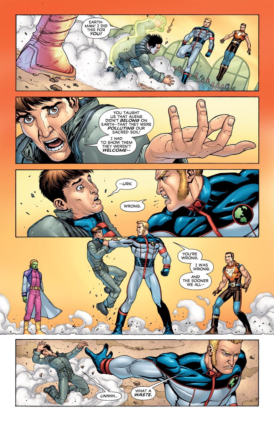 Legion of Super-Heroes (2010) Issue #6 #7 - English 11