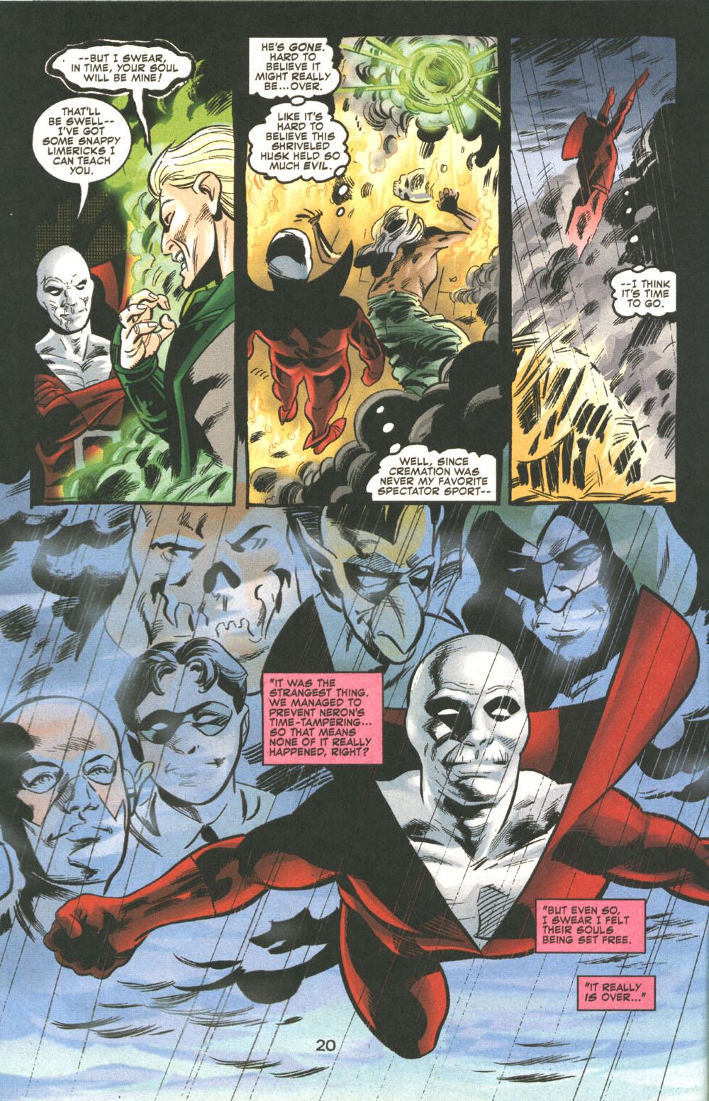 Read online Deadman: Dead Again comic -  Issue #5 - 21