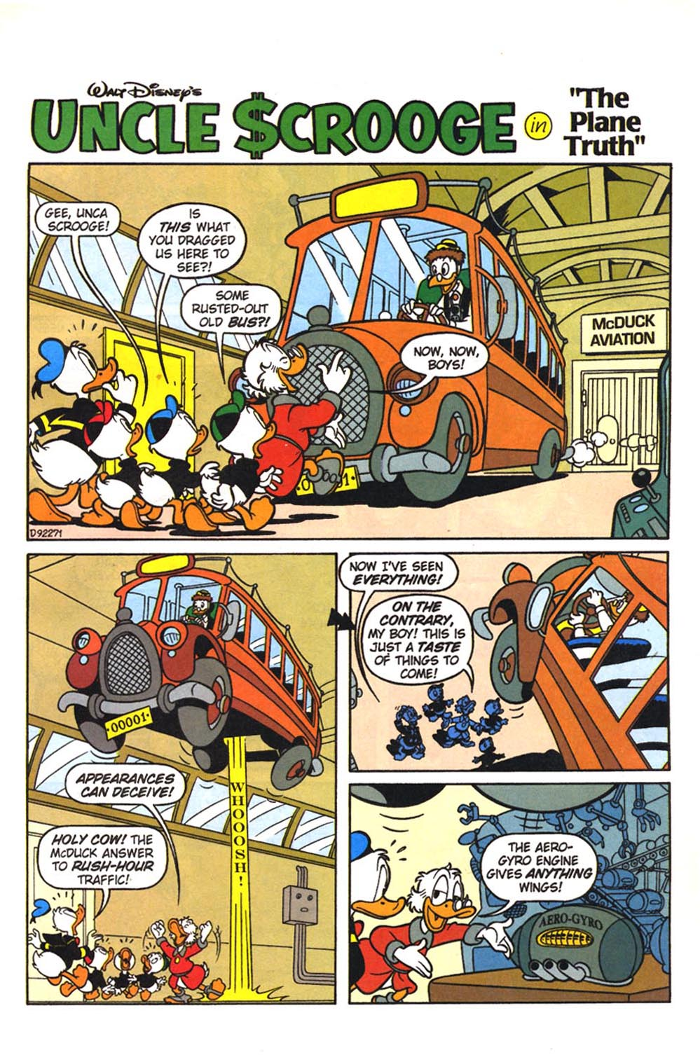 Uncle Scrooge (1953) Issue #307 #307 - English 3