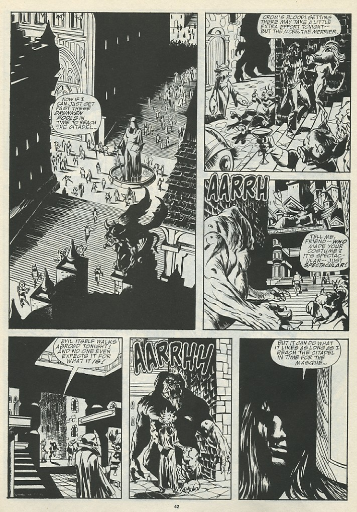 The Savage Sword Of Conan Issue #185 #186 - English 44