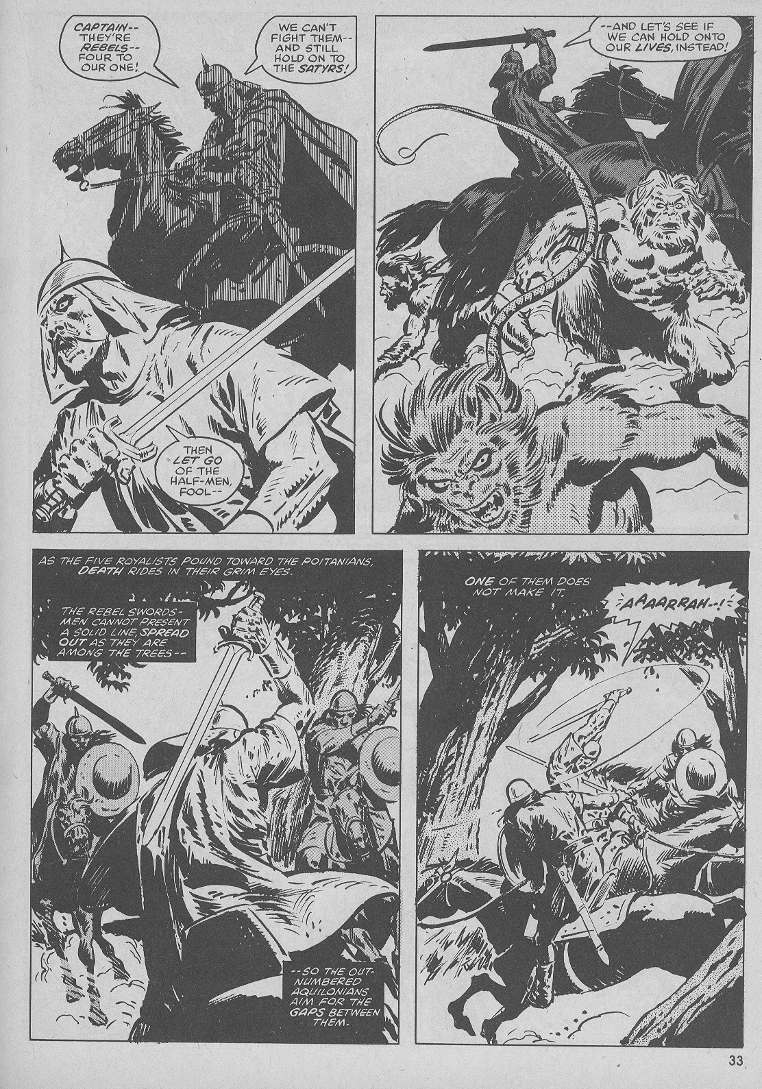 The Savage Sword Of Conan Issue #51 #52 - English 33