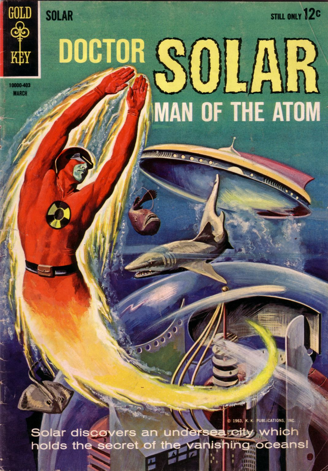 Doctor Solar, Man of the Atom (1962) 7 Page 1