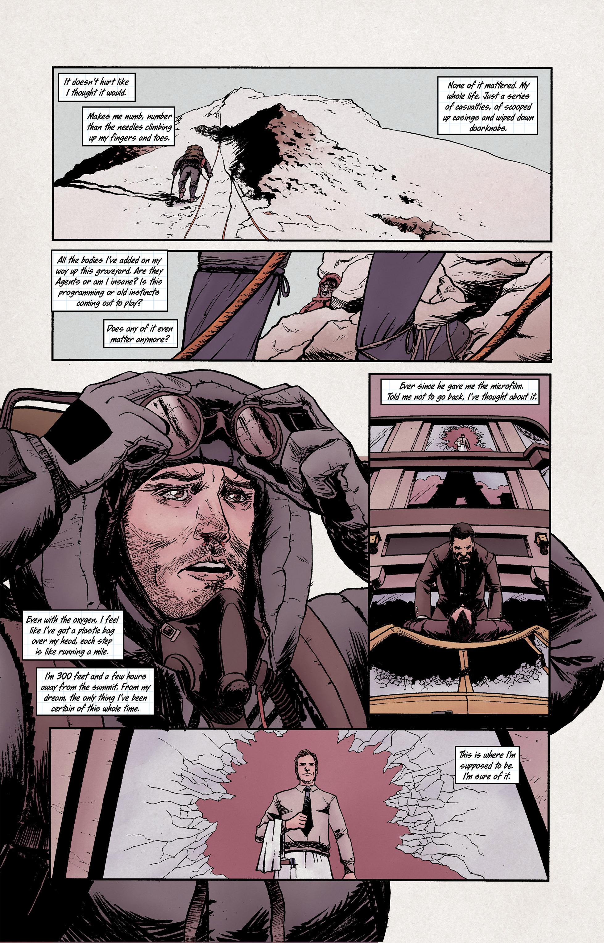 Read online High Crimes comic -  Issue #10 - 11