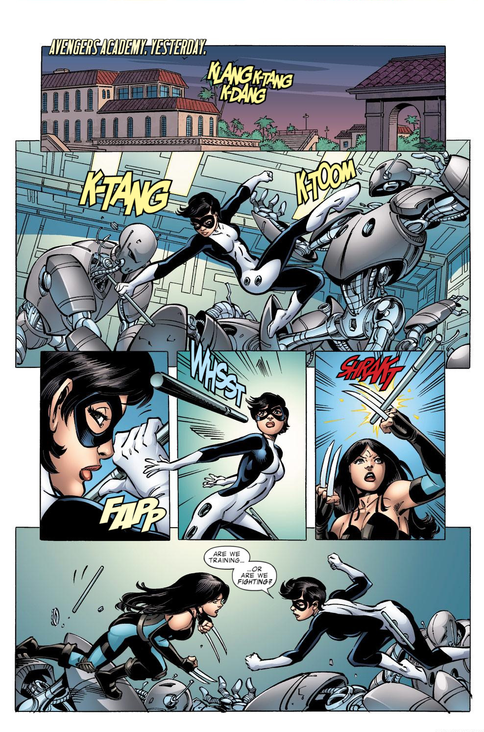Avengers Academy Issue #39 #40 - English 5