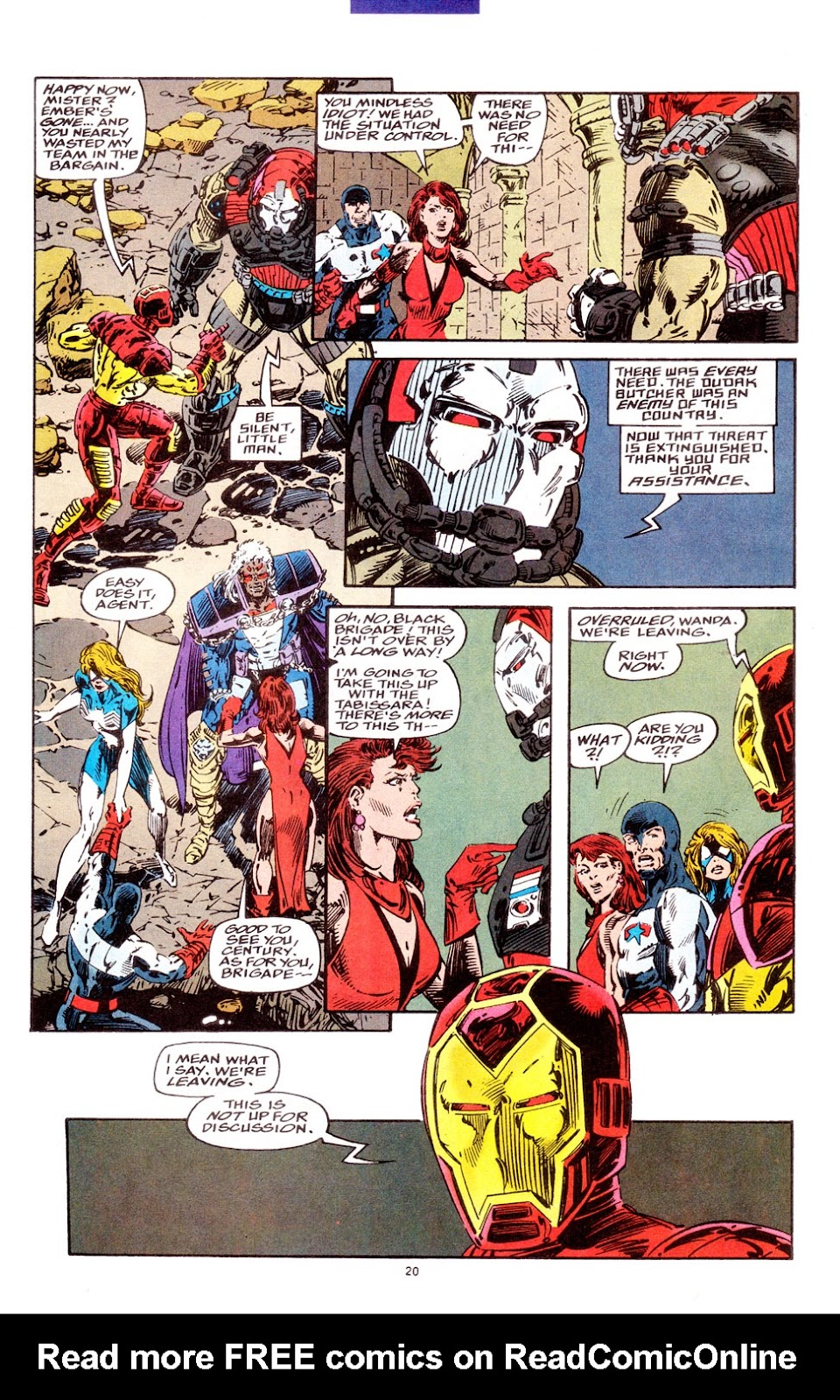 Force Works Issue #5 #5 - English 16