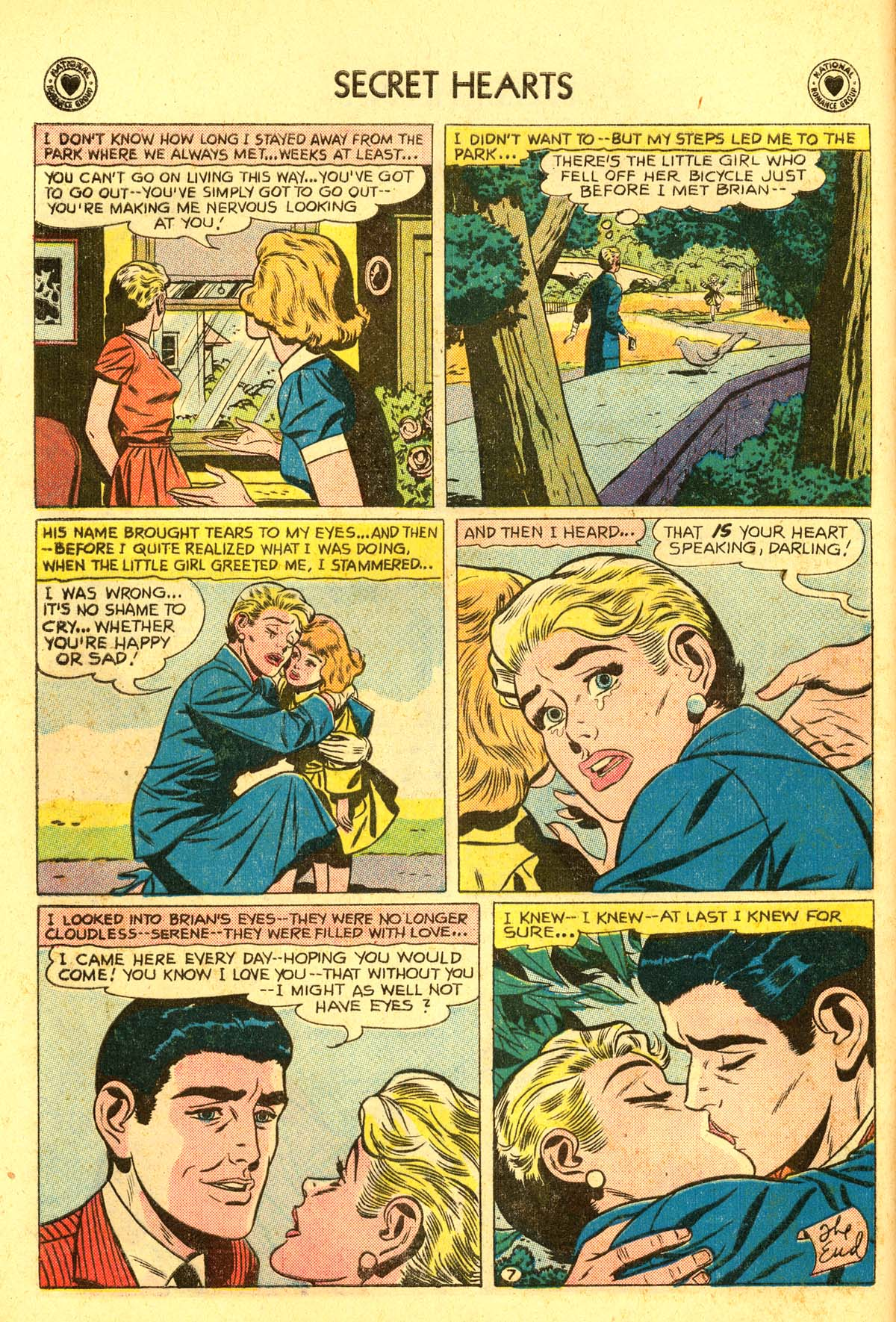 Read online Secret Hearts comic -  Issue #54 - 16