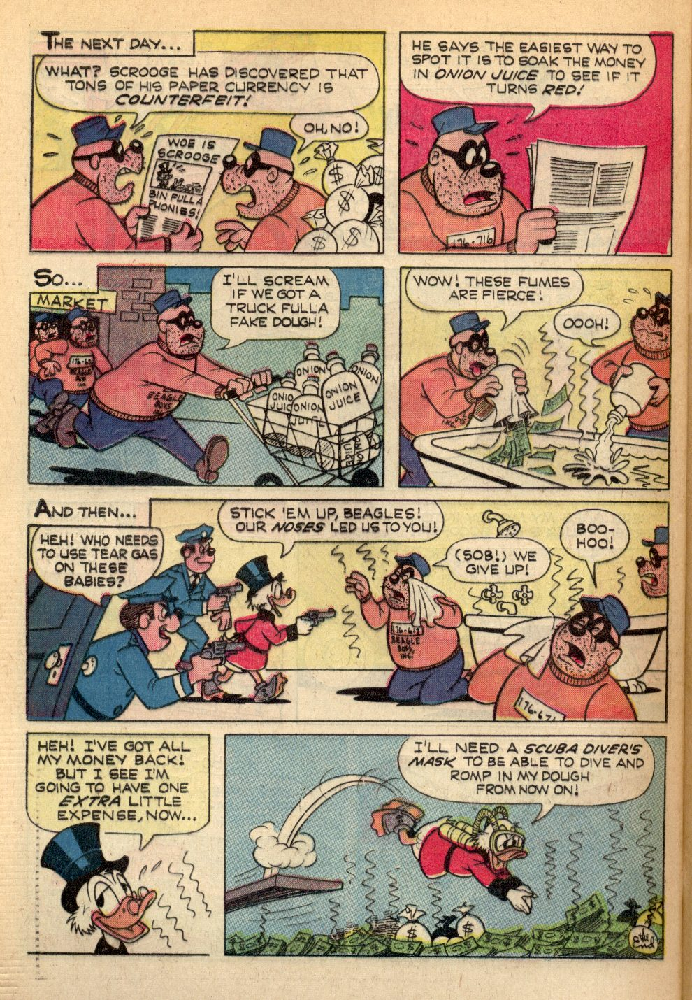 Uncle Scrooge (1953) Issue #82 #82 - English 32