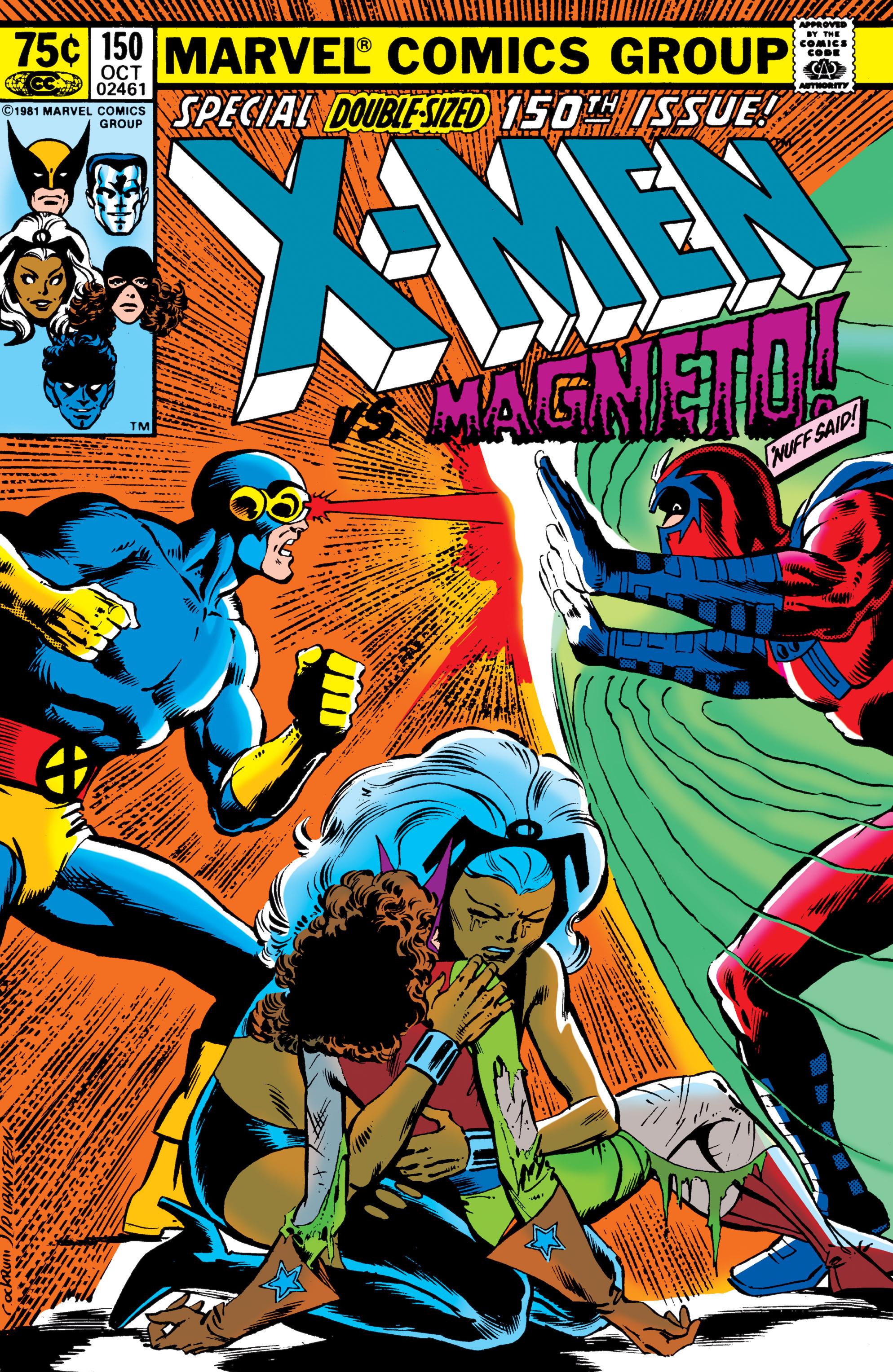 Uncanny X-Men (1963) 150 Page 0