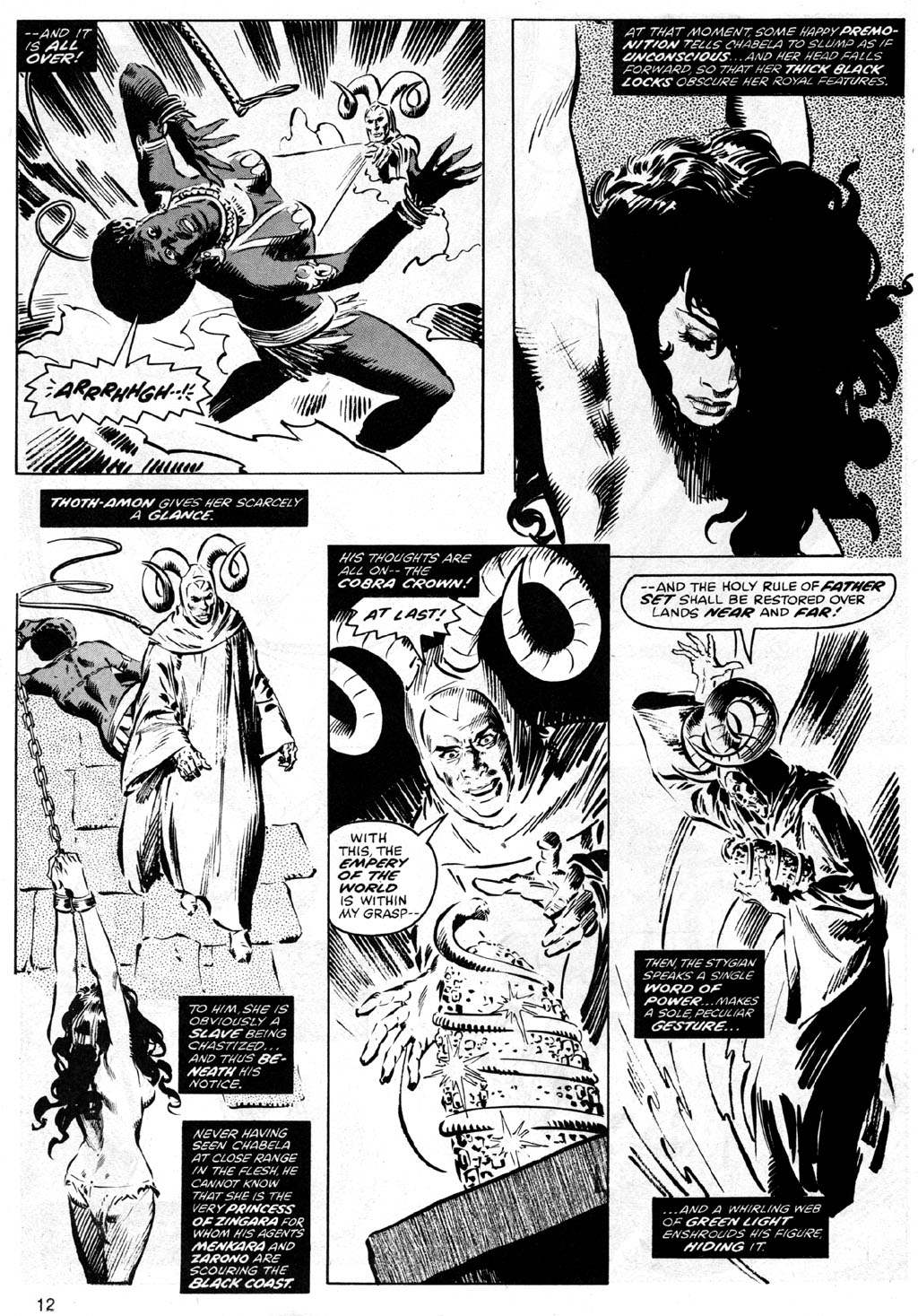 The Savage Sword Of Conan Issue #42 #43 - English 12