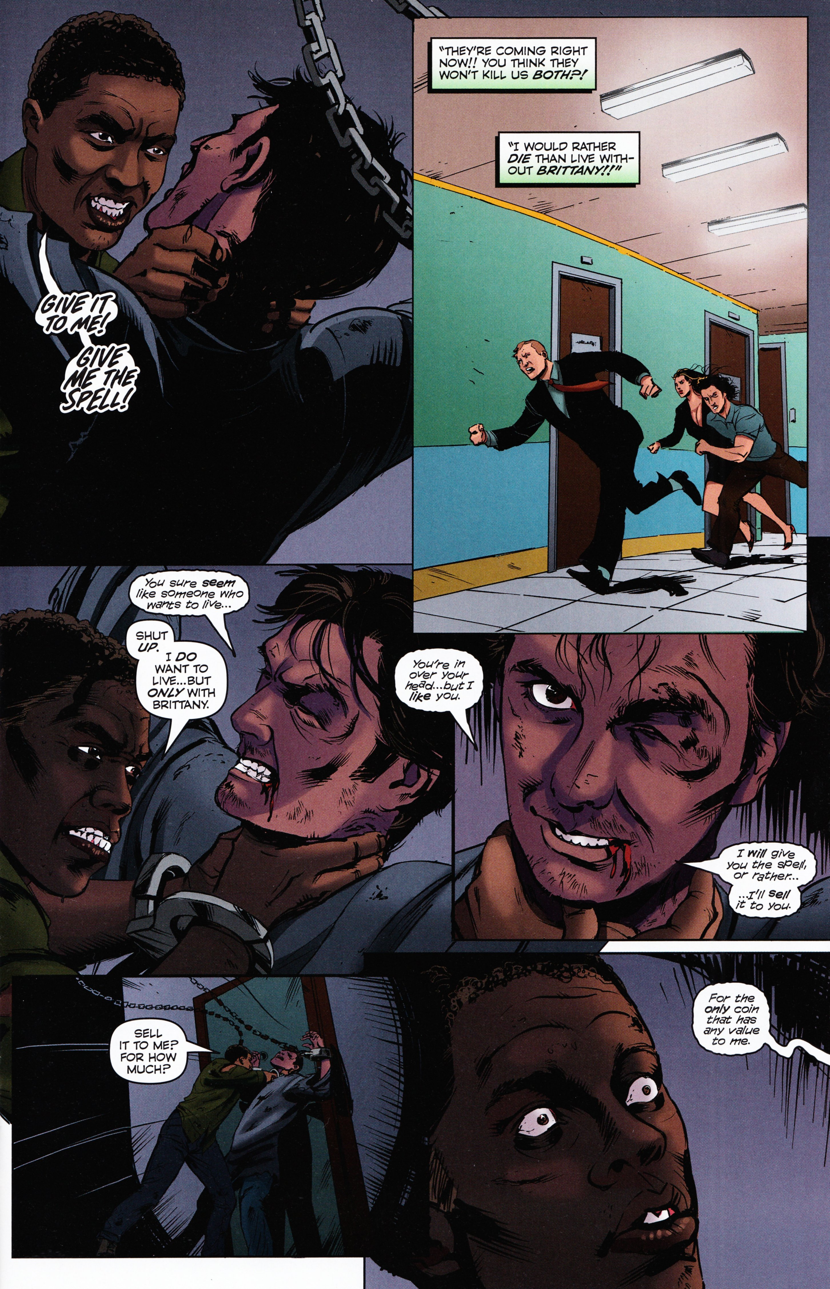 Read online Evil Dead 2: Tales of the Ex-Mortis comic -  Issue #2 - 11