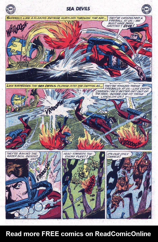 Read online Sea Devils comic -  Issue #13 - 19