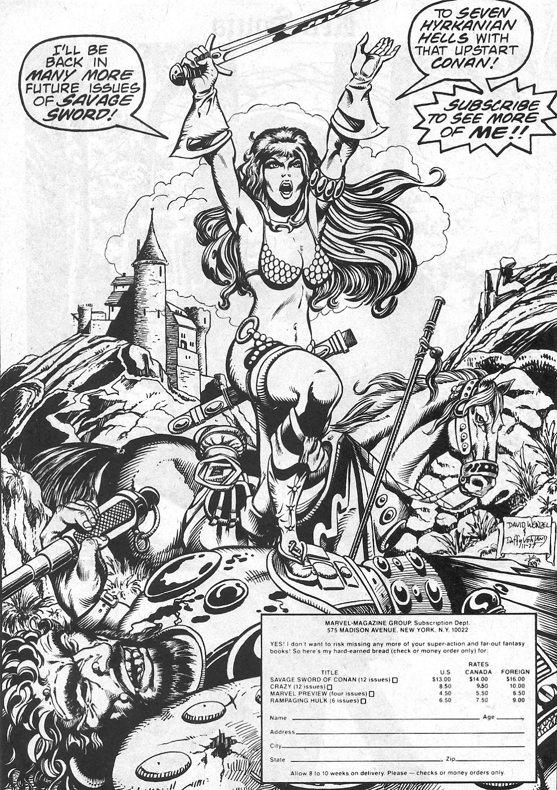 The Savage Sword Of Conan Issue #29 #30 - English 34