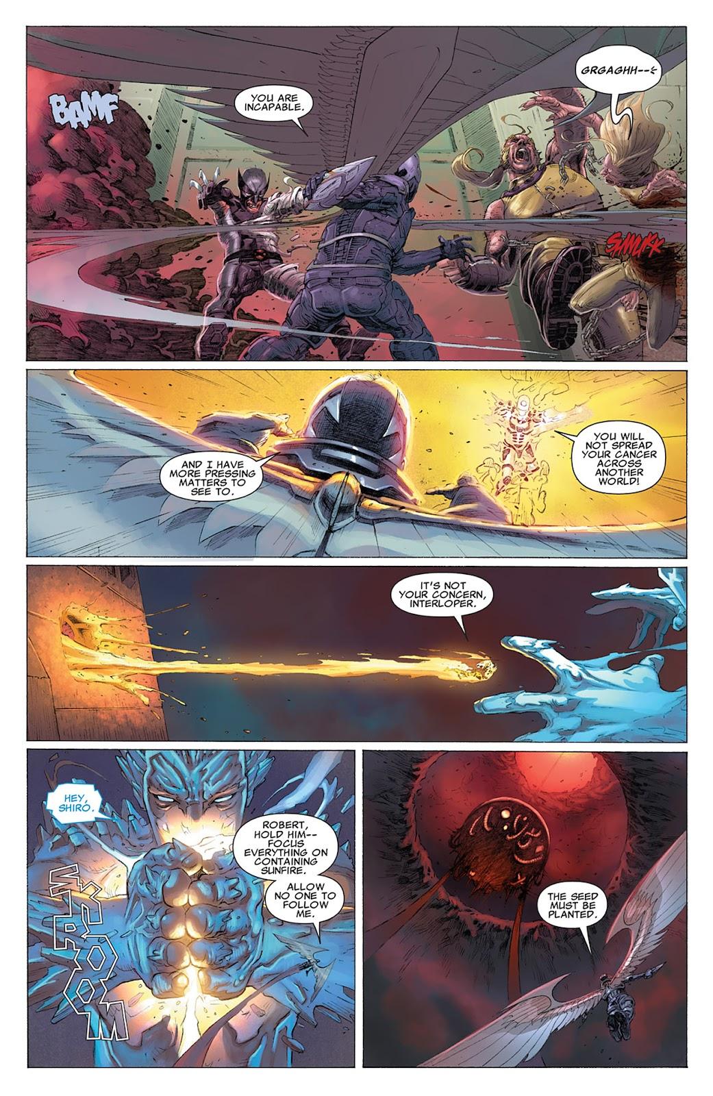 Uncanny X-Force (2010) Issue #17 #18 - English 10