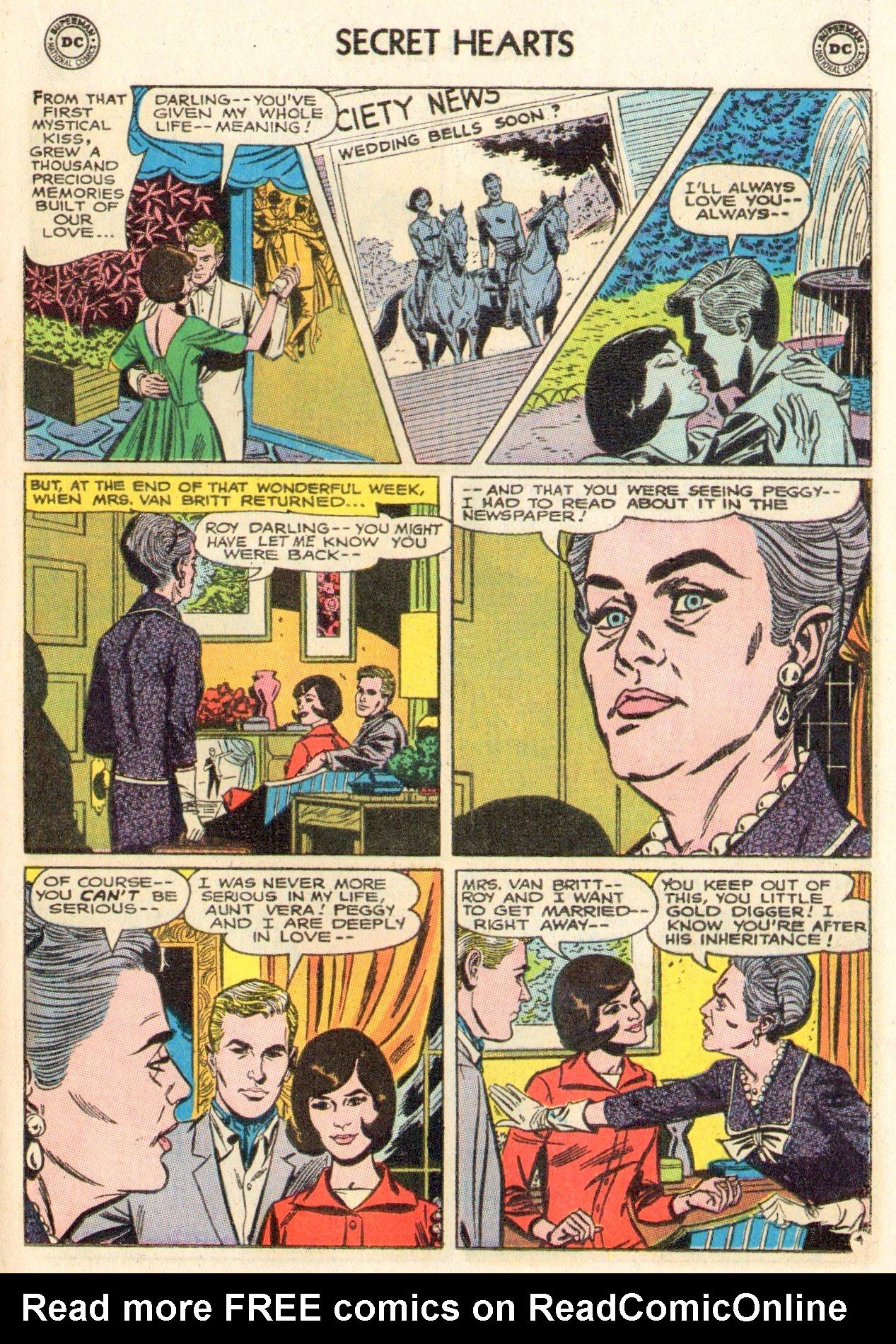 Read online Secret Hearts comic -  Issue #104 - 17