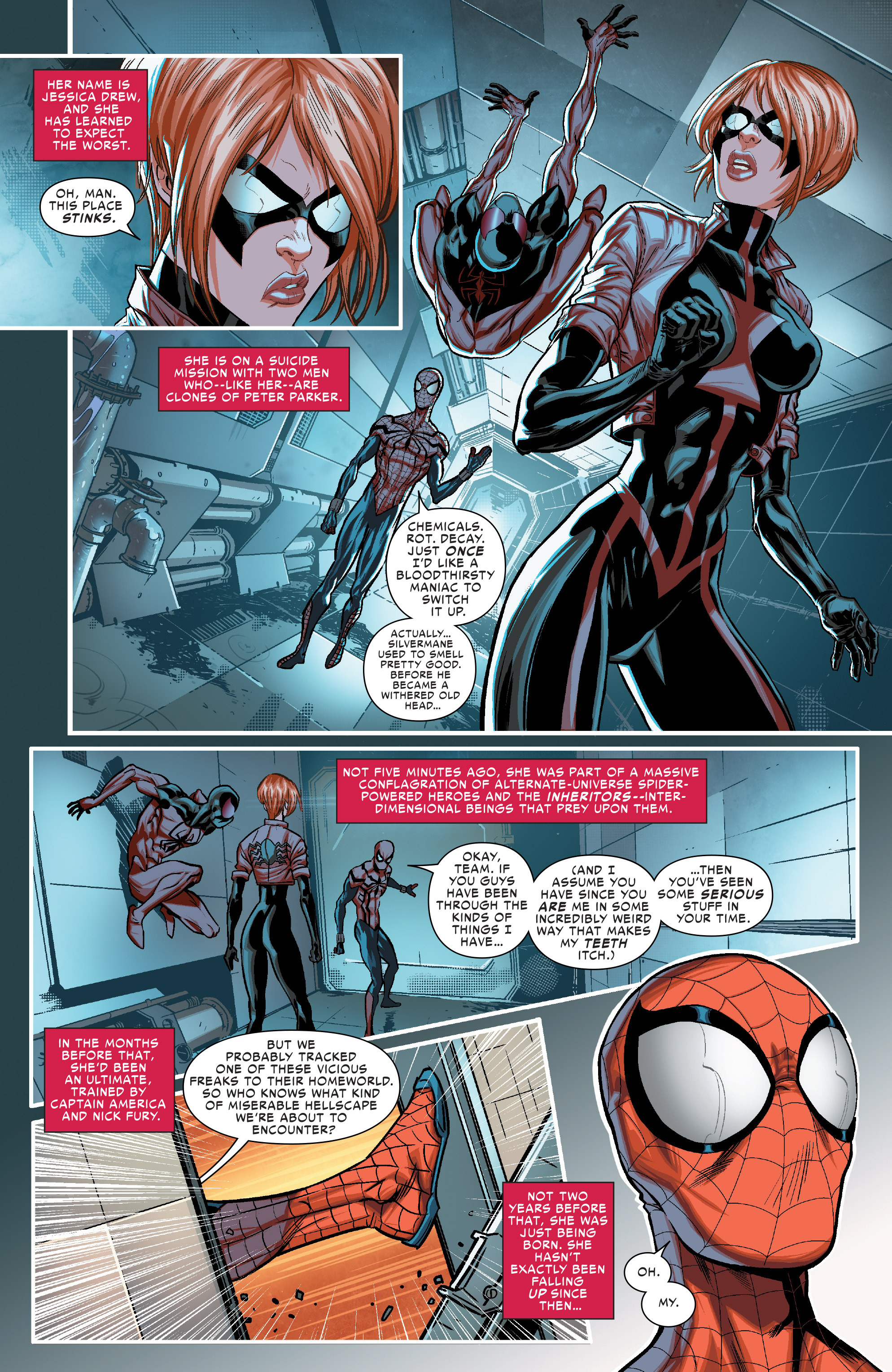 Read online Scarlet Spiders comic -  Issue #1 - 3