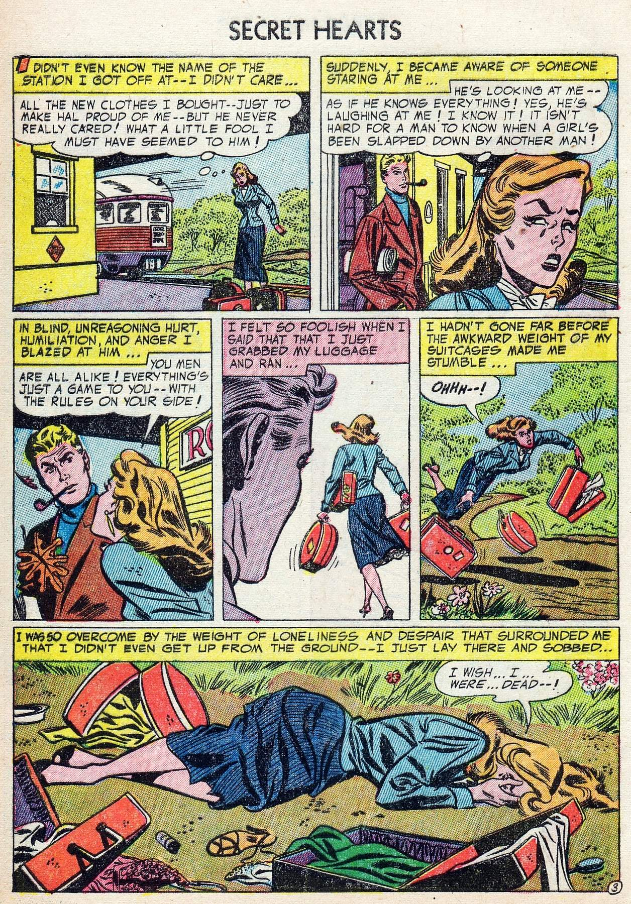 Read online Secret Hearts comic -  Issue #25 - 28