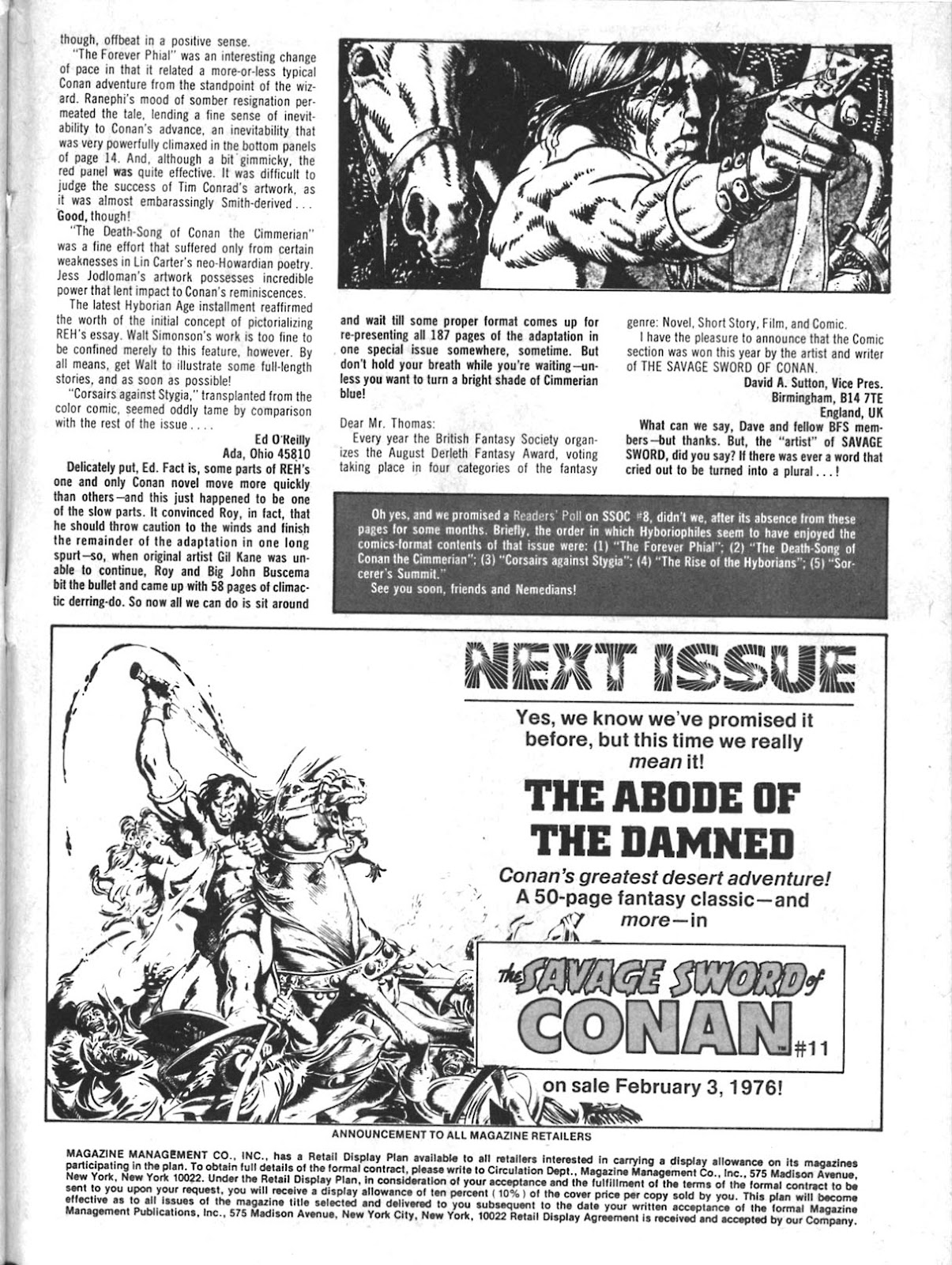 The Savage Sword Of Conan Issue #10 #11 - English 56