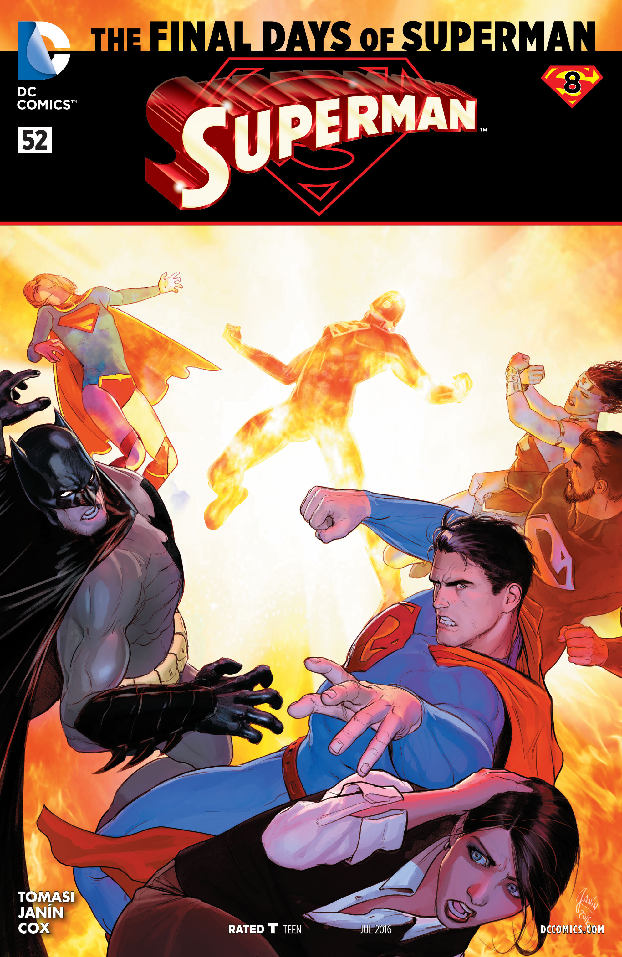 Read online Superman (2011) comic -  Issue #52 - 1