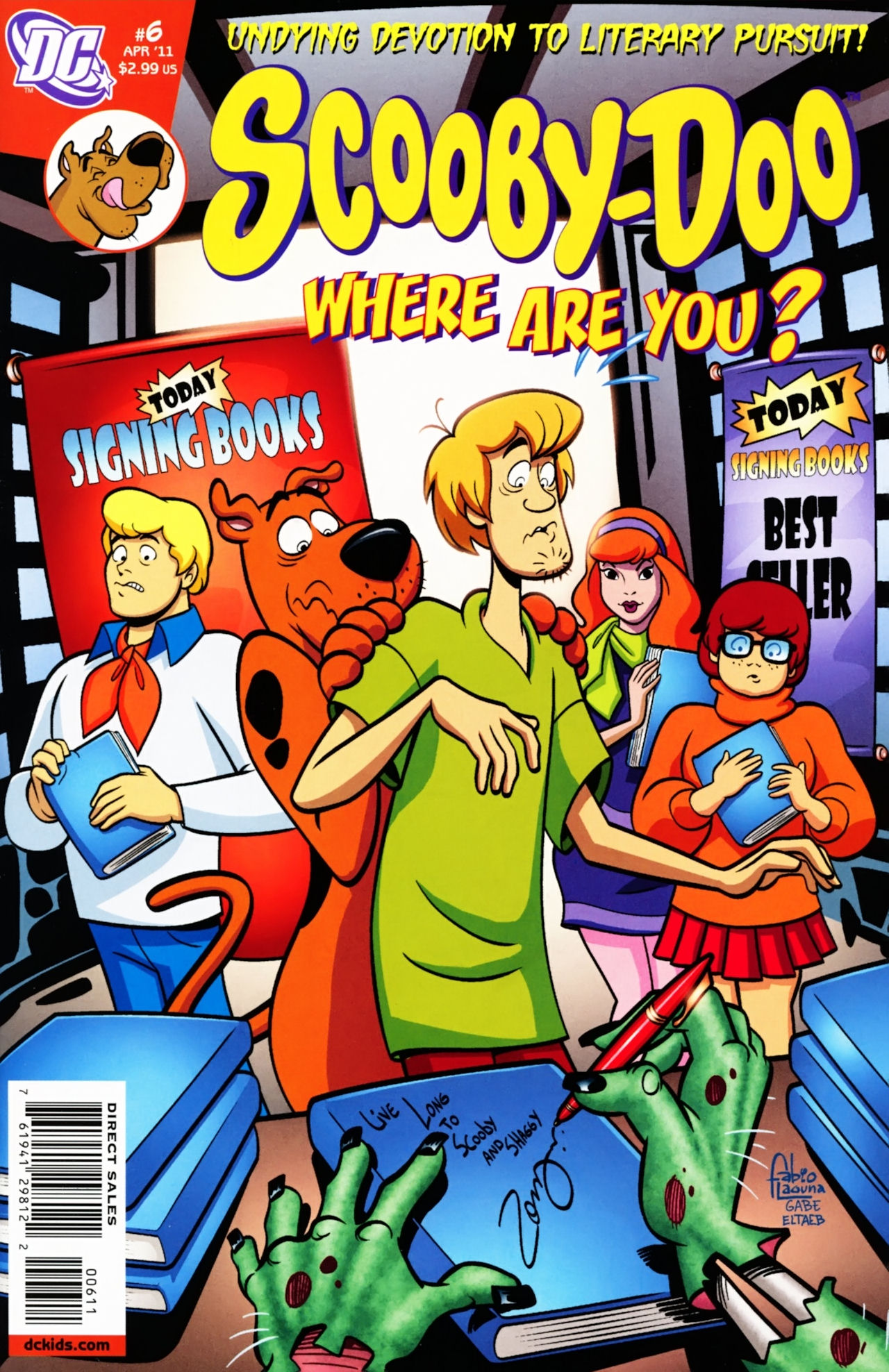 Read online Scooby-Doo: Where Are You? comic -  Issue #6 - 1