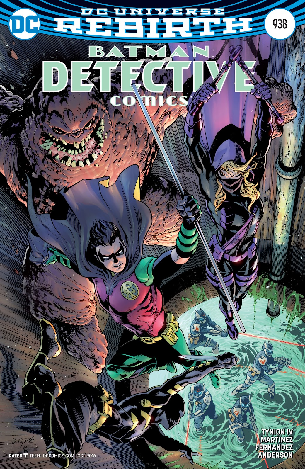 Detective Comics (2016) issue 938 - Page 1