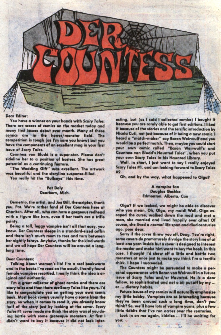 Read online Scary Tales comic -  Issue #5 - 32