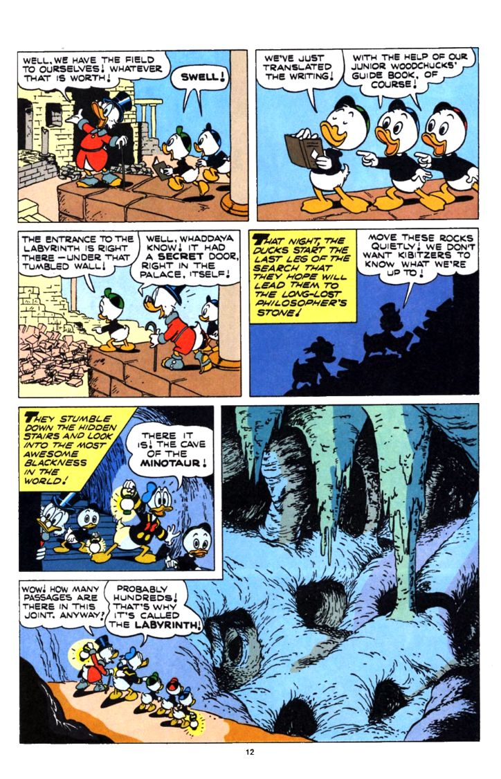 Uncle Scrooge (1953) Issue #253 #253 - English 12