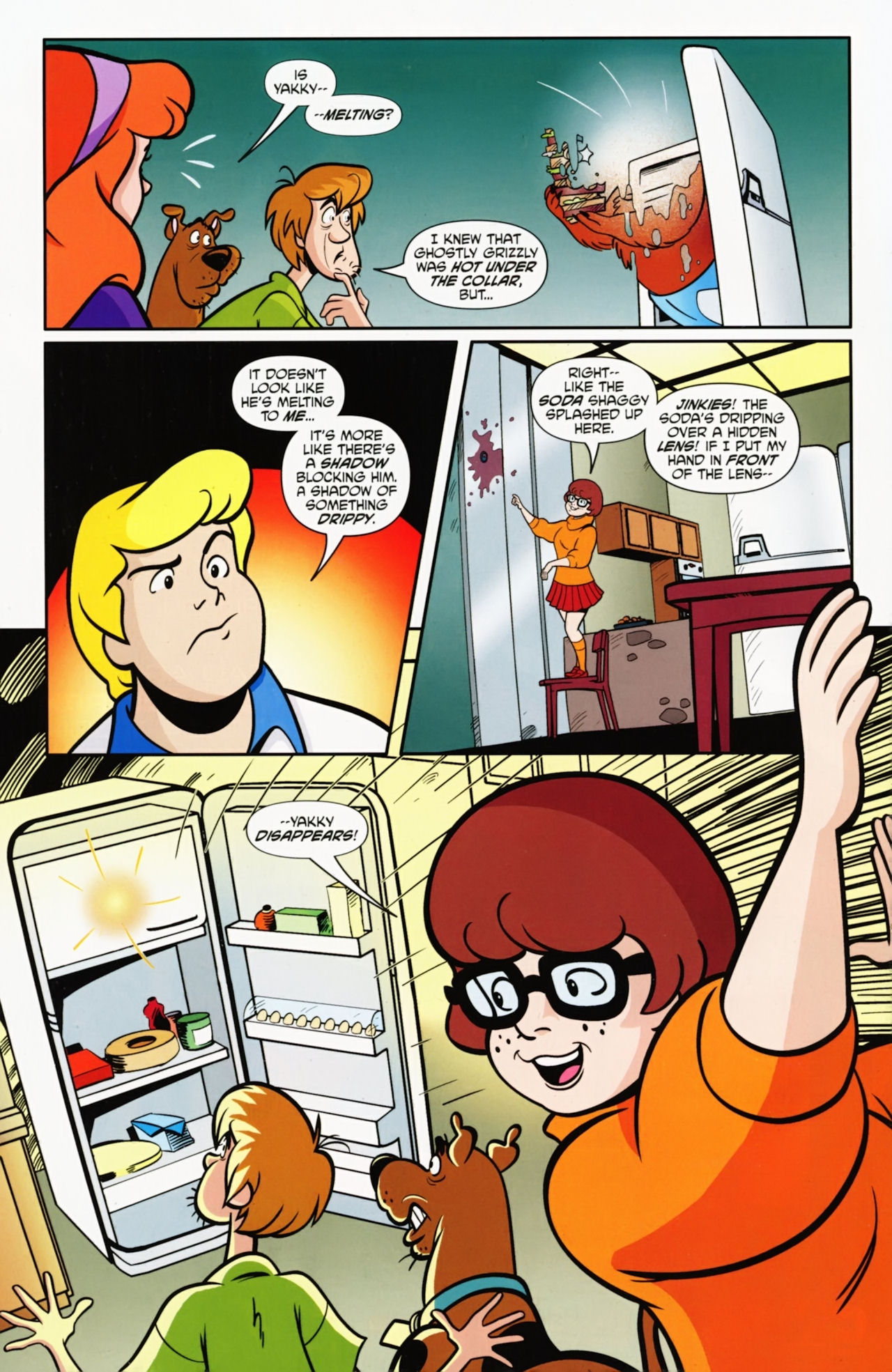 Read online Scooby-Doo: Where Are You? comic -  Issue #9 - 15