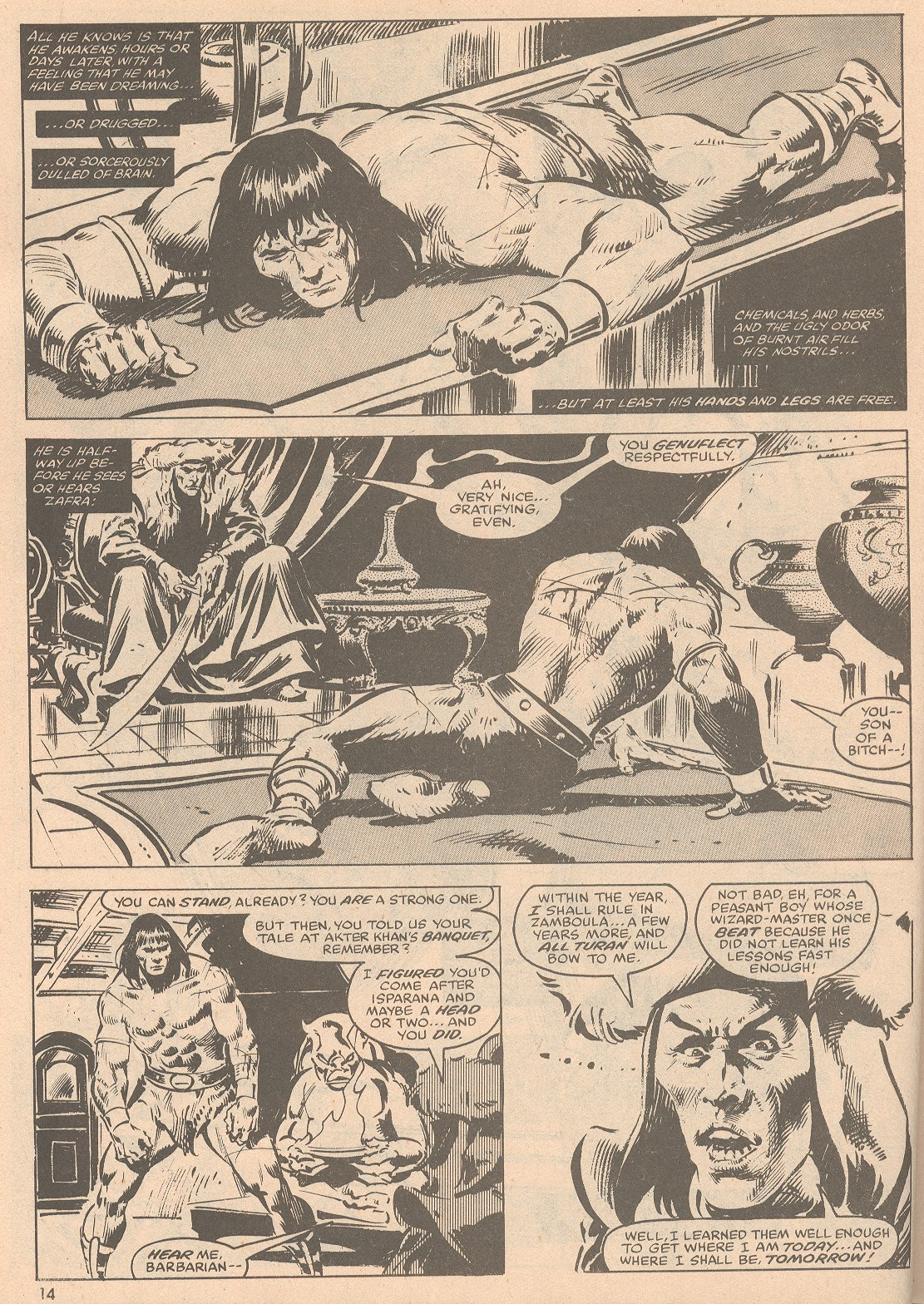 The Savage Sword Of Conan Issue #58 #59 - English 15