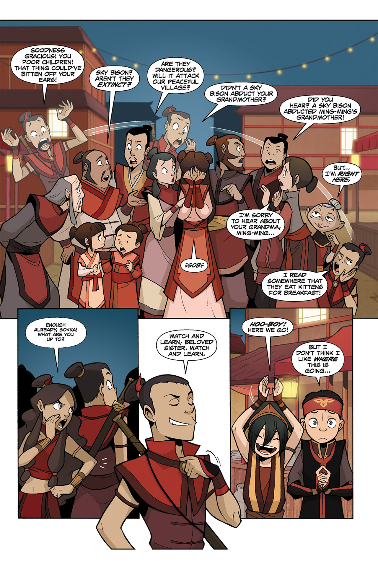 Nickelodeon Avatar: The Last Airbender - The Lost Adventures chap full pic 157
