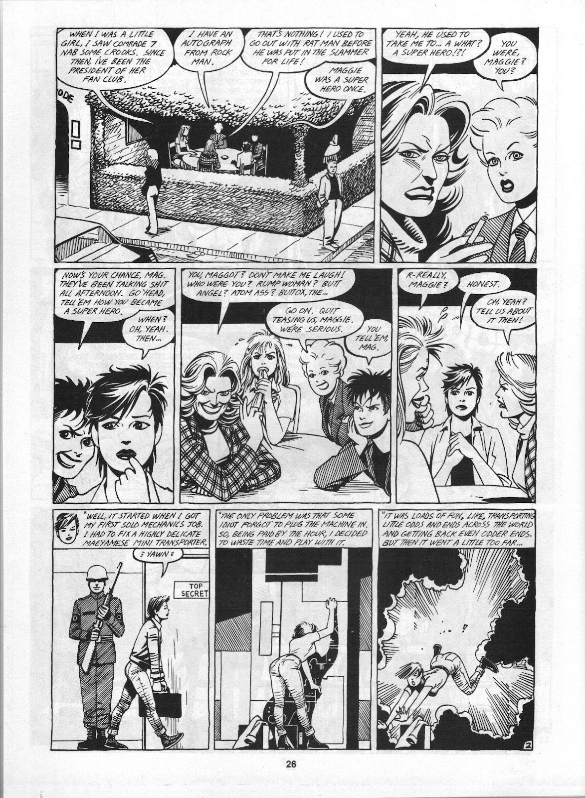 Love and Rockets (1982) Issue #3 #2 - English 28
