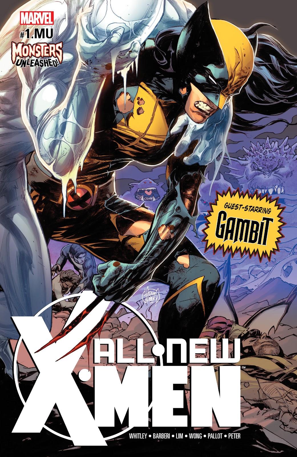 All-New X-Men (2016) Issue #1.MU #3 - English 1