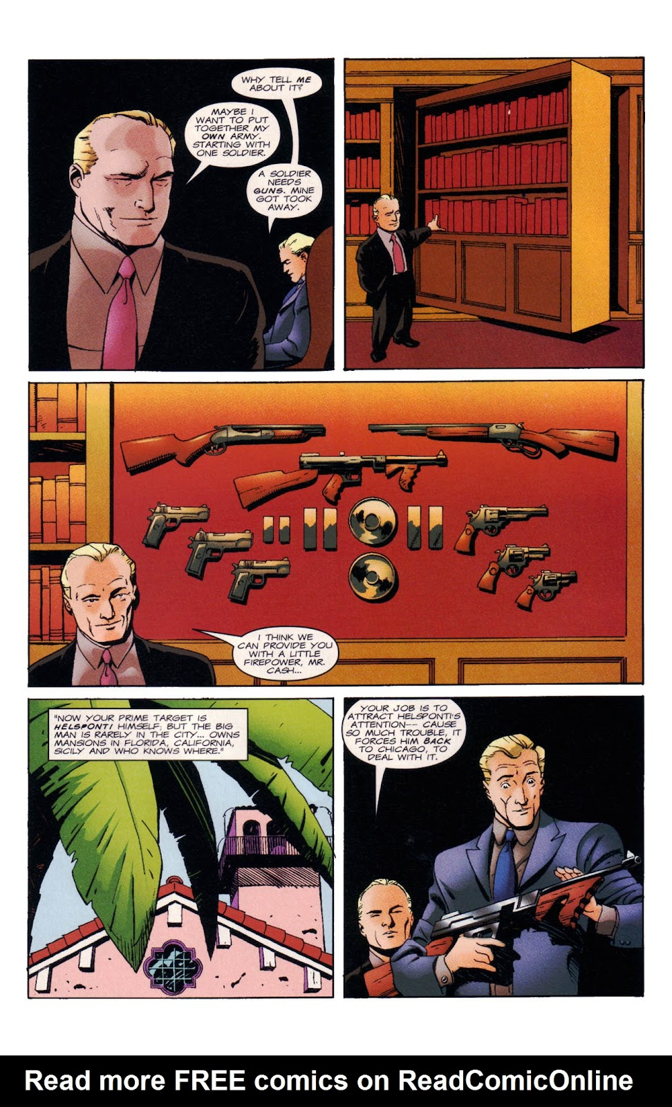 Read online Wild Times: Grifter comic -  Issue # Full - 16